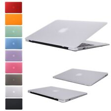 "Rubberized Hard Case Cover Shell for Macbook Air/Pro 11"" 13"" 15"" Laptop + Sleeve"