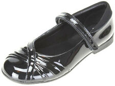 Clarks DOLLY SHY Girls Black Patent Leather School Shoes 10 - 1 D,E,F,G,H Fit