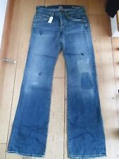 COH CITIZENS OF HUMANITY JAGGER BOOTCUT BOOT LEG JEANS 29 WAIST NEW DISTRESSED