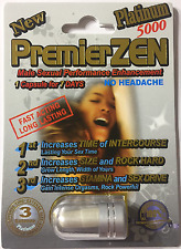 PREMIERZEN PLATINUM 5000 Male Sexual Performance Enhancement ORIGINAL Pill