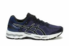 Asics Mens Running Sneakers Gel-kayano 22 Mediterranean Black Silver