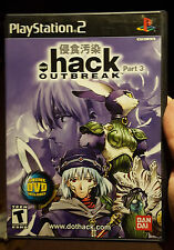 Dot Hack Outbreak Part 3 - Sony Playstation 2 / PS2, 2003 - Hey, it's rare! Buy!