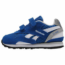 Reebok Infants GL 3000 TD Velcro Fasten V69843 Blue Trainers UK Infants Sizes