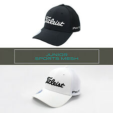NEW Titleist Junior/Youth/Child Sports Mesh ProV1/ FJ Golf Hat/Cap/Headwear