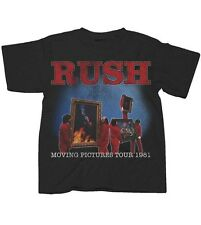 Rush Moving Pictures World Tour 1981 Men's T-Shirt