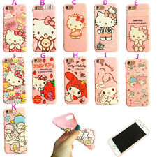 Cute Hello KT My Melody Twin Star TPU Shell Cover For iPhone 6 6s 7 Plus Case