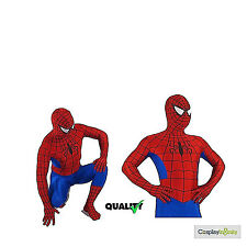 High Quality Adults Spiderman Zentai Lycra Suit Cosplay Costume Halloween Party