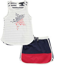 "Nautica Little Girls' Toddler ""On the Court"" 2-Piece Outfit (Sizes 2T - 4T)"