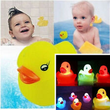 NEW Flashing Lovely Baby Kids Bath Toy LED Changing Duck Light Lamp Multi Colors