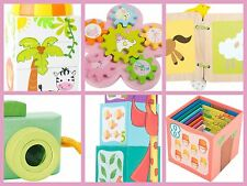Baby Toys Wooden Colourful Children Babies Stacking Circus Toy Camera Peg NEW