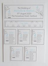 Wedding Place Card * Table Number * Menu * Camera Card * Table Plan * Signs *DE*