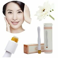 2017 40 Micro Needles Wand Derma Roller Pen Stamp Skin Therapy Care Cure Beauty