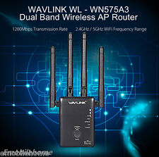 WAVLINK WL - WN575A3 2.4G / 5G 1200Mbs Wireless AP Router with 4 x 5dBi Antenna