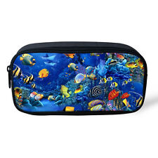 Fish School Purse Girls Boys Cosmetic/Makeup Bags Storage Pouch Purse Pouch Bags