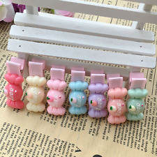 10pcs/lot Cute Candy Hair Accessories Kids baby Girls Hair Clips Hair Bands rope