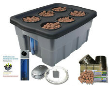 FREE SHIPPING Complete Hydroponics System DWC BUBBLER,  #04 H2OtoGro