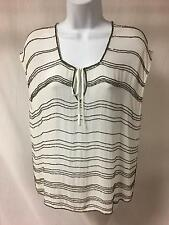 Anthropologie Beaded Blouse Size Medium Gryphon Must See