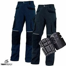 Delta Plus Panoply MOPA2 Mach Originals Cargo Work Trousers Pants + Kneepads