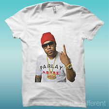 """T-SHIRT """" FLO RIDA MUSIC """" THE WHITE HAPPINESS IS HAVE MY T-SHIRT NEW"""