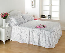 Diana Cowpe Hotel Quality Traditional Rosebud Print Fitted Bedspread Set