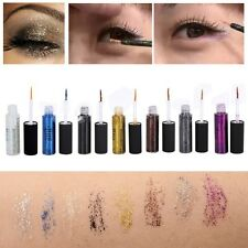 Sexy Diamond Glitter &Shimmer Waterproof Liquid Eyeliner Eyeshadow Makeup Beauty