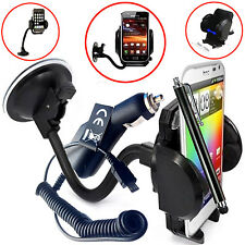 FLEXI WINDSCREEN 360 CAR MOUNT SUCTION HOLDER CRADLE FOR HTC ONE A9s
