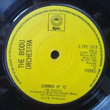 """Biddu Orchestra, The*-Summer Of '42 7"""" 45-Epic, S EPC 3318, 1975, Plain Sleeve"""