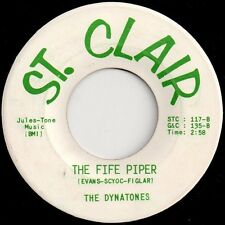 "Dynatones And Gary Van Scyoc-The Fife Piper / And I Always Will 7"" 45-St. Clair"