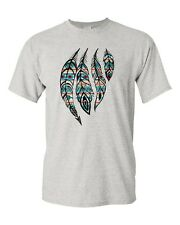 Feathers Native American Spirit Indian Tribal T-Shirt All Sizes & Colors(10150)