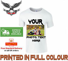 Your Image text Photo Here - Custom T Shirt Printing Personalised Stag Hen Party