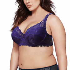 Sexy's Womens Lace Full Coverage Underwire Bra Padded Push up Bra Woman Bra DDEF