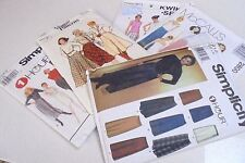Assorted Ladies SKIRTS Sewing patterns Select your Pattern Uncut Condition