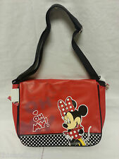Minnie Mouse Large Messenger Bag  School Bag WAS £15.99 NOW £9.99 Red or Pink