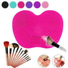 Useful Silicone Makeup Brush Cleaner Pad Washing Scrubber Board Cleaning Mat PO
