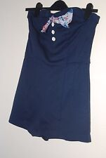 River Island kitsch sailor cute playsuit U.K size 12