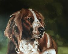 Spaniel Dog Art PRINT signed art print from oil painting by James Coates