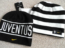 JUVENTUS NIKE BEANIE football soccer calcio TAGS Skiing Winter REVERSIBLE