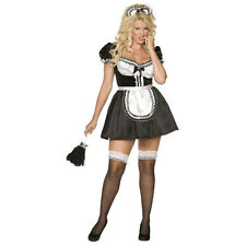 Adult Plus Size Fiona French Maid Ladies Sexy Fancy Dress Costume Outfit 30381