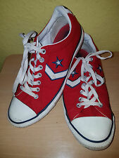 CONVERSE ALL STAR RED TRAINERS SIZE UK 9 EUR 42.5