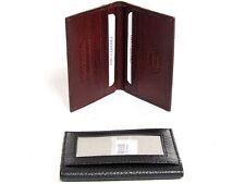 RFID Blocking Leather Credit Card & Id Holder Slim Design Men's Wallet