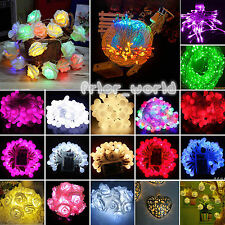 1-10M Battery Power Operated Mini Fairy String Lights Bedroom Garden Party Decor