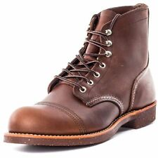 RED WING IRON RANGER 8111 AMBER HARNESS LEATHER