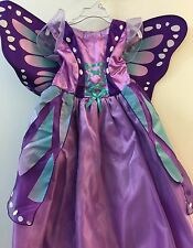 Toddler Girls Purple Butterfly childs Dress Up Halloween Costume
