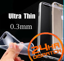 Hot Luxury Ultra Thin Silicone Gel Slim Rubber Case For Iphone6/6s {{fo207