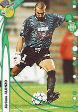 1999-2000 DS France Foot 2000 Base Card AS Saint-Etienne (197-210) Variations