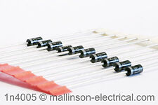 1n4005 Silicon Rectifier Diodes 1A 600V RoHS 1N4005 x100 x50 x25 x10