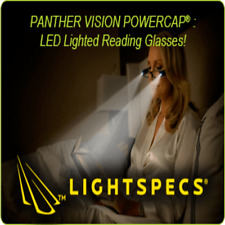 PANTHER VISION LIGHTSPECS READING GLASSES 1.5, 2.0 AND 2.5 DIOPTERS