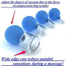 Anti-cellulite massage cupping. Vacuum therapy Massage cup. Handmade glass!!!