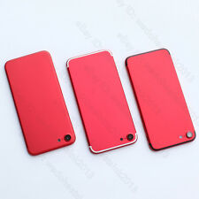 Red Back Rear Housing Battery Back Cover Middle Frame Replacement For iPhone 7