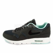 Nike WMNS Air Max 1 Ultra Essentials [704993-003] NSW Running Black/Artisan Teal
